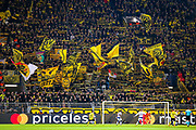 Borussia Dortmund fans during the Champions League round of 16, leg 2 of 2 match between Borussia Dortmund and Tottenham Hotspur at Signal Iduna Park, Dortmund, Germany on 5 March 2019.
