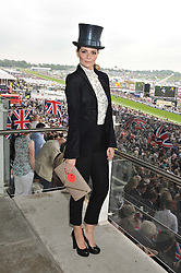 MISCHA BARTON at the 2012 Investec sponsored Derby at Epsom Racecourse, Epsom, Surrey on 2nd June 2012.
