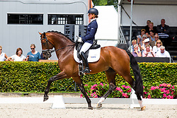 Cornelissen Adelinde, NED, Henkie<br /> World Championship Young Dressage Horses <br /> Ermelo 2016<br /> © Hippo Foto - Leanjo de Koster<br /> 28/07/16