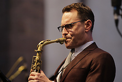 June 16, 2017 - Worms, Rhineland-Palatinate, Germany - Benjamin Herman from the New Cool Collective plays the saxophone live with the UK band Matt Bianco on stage at the 2017 Jazz and Joy Festival in Worms in Germany. (Credit Image: © Michael Debets/Pacific Press via ZUMA Wire)