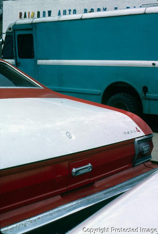 Rainbow Autobody 1400 block Church Street NW Washington DC 1985