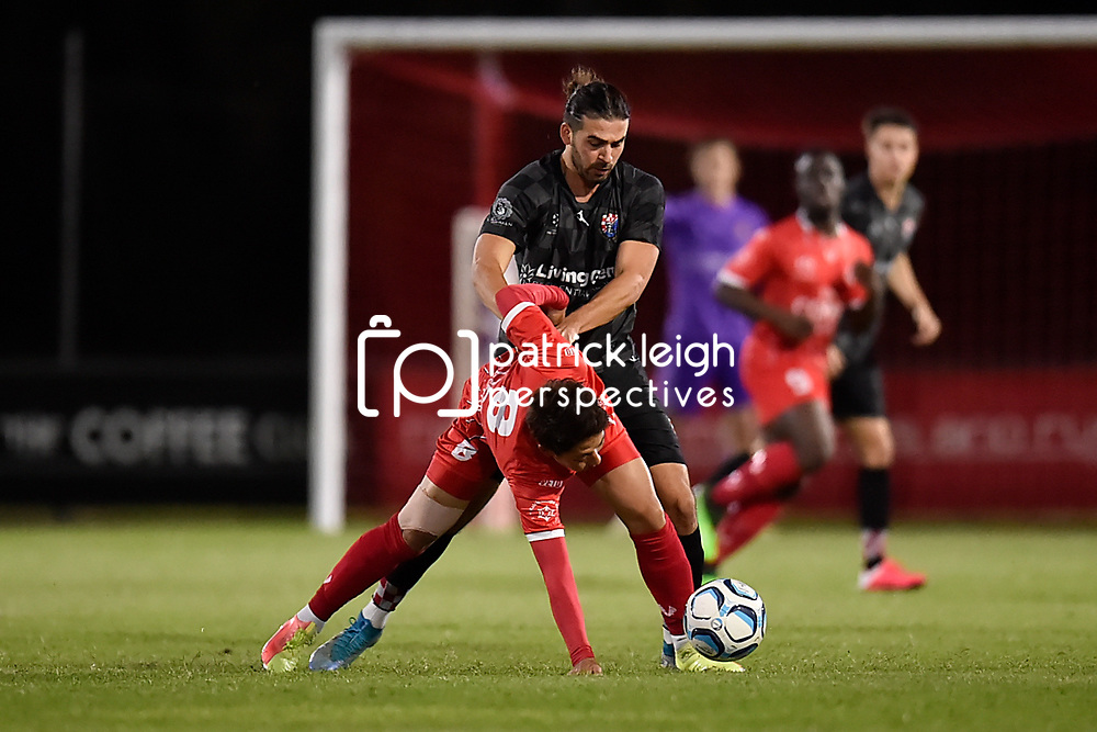 BRISBANE, AUSTRALIA - SEPTEMBER 27:  during the NPL Queensland Senior Men's Round 16 match between Olympic FC and Gold Coast Knights at Goodwin Park on September 27, 2020 in Brisbane, Australia. (Photo by Patrick Kearney)