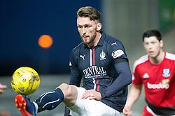 Falkirk's Lee Miller. Falkirk 1 v 1 Ayr United, Scottish Championship game played 14/1/2017at The Falkirk Stadium .