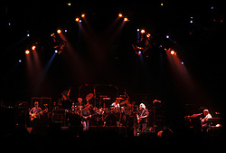 The Grateful Dead Live at the Knickerbocker Arena, Albany NY, 24 March 1990. View from the Lighting Booth, Dead Center, Floor. Shot during Loser.
