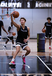 G League Ignite's Dyson Daniels practices with the team on Tuesday, Sept. 28, 2021 in Walnut Creek, Calif.