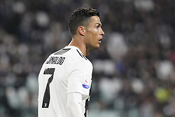 May 3, 2019 - Turin, Piedmont, Italy - Cristiano Ronaldo (Juventus FC) during the Serie A football match between Juventus FC and Torino FC at Allianz Stadium on May 03, 2019 in Turin, Italy..Final results: 1-1. (Credit Image: © Massimiliano Ferraro/NurPhoto via ZUMA Press)