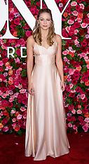 2018 Tony Awards - Red Carpet 10 June 2018