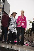 KEIRA JOHNSTONE; CECILE RICHARDS,   , Womens's March on  Washington DC. 21 January 2017