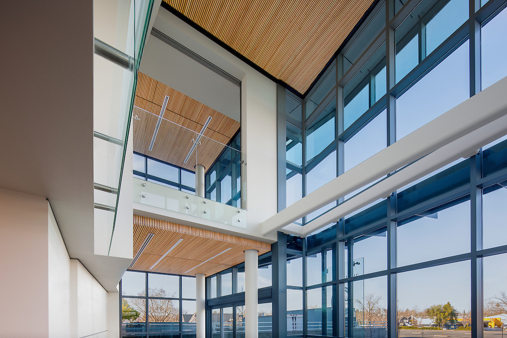 Interiors of the DMV of California