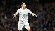 Claudio Bravo of Manchester City celebrates during the English Premier League match at The Etihad Stadium, Manchester. Picture date: December 12th, 2016. Photo credit should read: Lynne Cameron/Sportimage