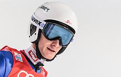 06.01.2016, Paul Ausserleitner Schanze, Bischofshofen, AUT, FIS Weltcup Ski Sprung, Vierschanzentournee, Bischofshofen, Finale, im Bild Clemens Aigner (AUT) // Clemens Aigner of Austria reacts after his 1st round jump of the Four Hills Tournament of FIS Ski Jumping World Cup at the Paul Ausserleitner Schanze in Bischofshofen, Austria on 2016/01/06. EXPA Pictures © 2016, PhotoCredit: EXPA/ JFK