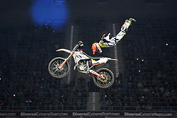 20.03.2015, Tauron Arena, Krakau, POL, Diverse night of the Jumps, FMX Weltmeisterschaft 2015, im Bild MAIKEL MELERO (HISZPANIA) // during the diverse night of the jumps FMX world championchip 2015 at the Tauron Arena in Krakau, Poland on 2015/03/20. EXPA Pictures © 2015, PhotoCredit: EXPA/ Newspix/ MAREK KLIMEK/NEWSPIX.PL<br /> <br /> *****ATTENTION - for AUT, SLO, CRO, SRB, BIH, MAZ, TUR, SUI, SWE only*****