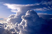 High-altitude thunderheads