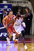 Wright Julian<br /> Grissin Bon Pallacanestro Reggio Emilia - VL Pesaro<br /> Lega Basket Serie A 2017/2018<br /> Reggio Emilia, 08/10/2017<br /> Foto A.Giberti / Ciamillo - Castoria