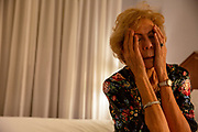 Distressed Senior Woman