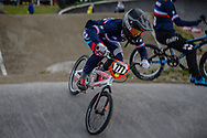 #777 (MAIRE Camille) FRA during round 3 of the 2017 UCI BMX  Supercross World Cup in Zolder, Belgium,