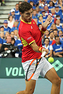 Pablo Carreno Busta (Spain) during the 2018 Davis Cup, semi final tennis match between France and Spain on September 14, 2018 at Pierre Mauroy stadium in Lille, France - Photo Laurent Lairys / ProSportsImages / DPPI