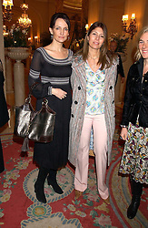 Left to right, SAFFRON ALDRIDGE, EVE HENDERSON and DORA LOEWENSTEIN at a ladies lunch in aid of the NSPCC held at The Ritz, Piccadilly, London on 7th March 2006.<br /><br />NON EXCLUSIVE - WORLD RIGHTS