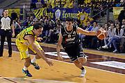 Tommaso Oxilia<br /> Ambalt Recanati - Virtus Segafredo Bologna<br /> Campionato Basket A2 LNP 2016/2017<br /> Ancona, 03/12/2016<br /> Foto Ciamillo-Castoria
