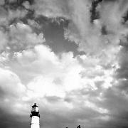 Portland Head Lighthouse. Cape Elizabeth, Maine