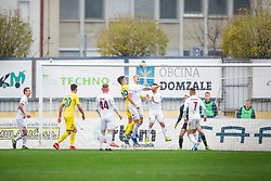 Arnel Jakupovic of Domzale during football match between NK Domzale and NK Triglav in Round #18 of Prva liga Telekom Slovenije 2019/20, on November 23, 2019 in Sports park Domzale, Slovenia. Photo by Sinisa Kanizaj / Sportida