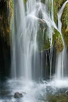 Galovacki Buk waterfall detail, Upper Lakes, Plitvice National Park, Croatia