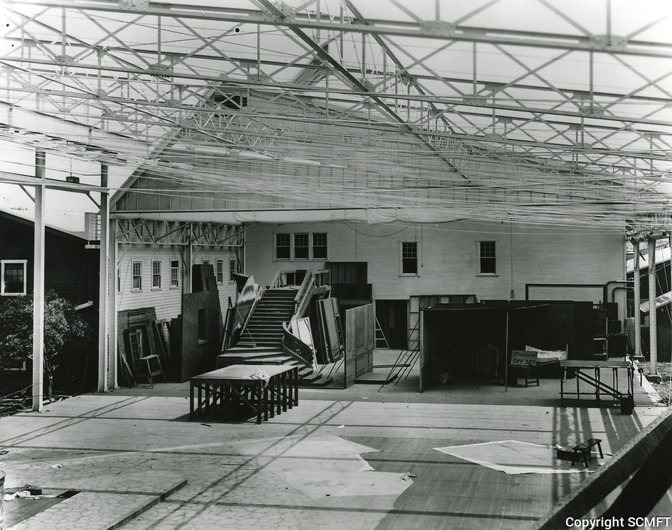 1917 Movie set at Thomas Dixon Studios on Western Ave. & Sunset Blvd.