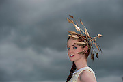 28/07/2014 Stephanie Casserly from Oranmore Co. Galway at the Tuesday evening meeting of the Galway Summer racing Festival. Photo: Andrew Downes