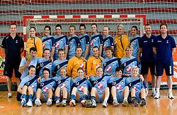 Slovenian Handball Women National Team, on June 3, 2009, in Arena Kodeljevo, Ljubljana, Slovenia. (Photo by Vid Ponikvar / Sportida)