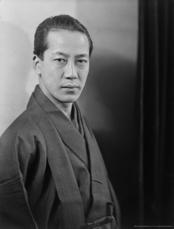 Take Sato, painter, 1920