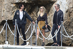 Cap d'Antibes the 19 th of May<br /> Adrian Brody and Natasha Poly accompanied by her husband leaving Eden Rock Hotel's restaurant after lunch<br /> Abacapress.comCap D'Antibes 16th of May<br /> Socialite Hofit Golan frolics in the Eden Rock Hotel's pool<br /> Abacapress.com