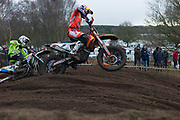Pauls Jonass (1) leads Martin Barr (50). The revo Husky's were fast all weekend and Barr was impressive all day,.