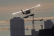 Float planes that take off and land on Lake Union. (Mark Harrison / The Seattle Times)