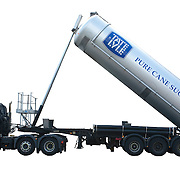 Truck with pure cane sugars container