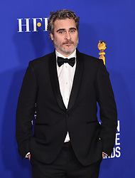 Golden Globe Awards - Press Room. 05 Jan 2020 Pictured: Joaquin Phoenix. Photo credit: OConnor-Arroyo/AFF-USA.com / MEGA TheMegaAgency.com +1 888 505 6342