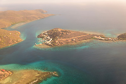 Luftbildaufnahme von Insel Tortola, Aerial photography from Tortola Island, Britische Jungferninsel, Karibik, Karibisches Meer, British Virgin Islands, BVI, Caribbean Sea