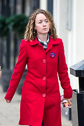 © Licensed to London News Pictures. 22/11/2017. Wakefield, UK. Kerry Maguire (daughter of Ann Maguire) at Wakefield Coroners Court today for the Ann Maguire inquest. Mrs Maguire, a 61 year old Spanish teacher, was stabbed to death by Will Cornick at Corpus Christi Catholic College in Leeds in April 2014. The school pupil, who was 15 at the time, admitted murdering Mrs Maguire and was given a life sentence later that year. Since then, some of Mrs Maguire's family have campaigned for further investigation into her death as they believe more could have been done to prevent the tragedy. Photo credit: Andrew McCaren/LNP