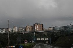 September 7, 2017 - Naples, Italy - View of Rain and Storm to Naples, Italy on September on 7, 2017. Some storms will produce heavy rain and dangerous lightning. (Credit Image: © Paolo Manzo/NurPhoto via ZUMA Press)