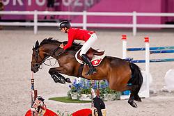 Guerdat Steve, SUI, Venard De Cerisy, 383<br /> Olympic Games Tokyo 2021<br /> © Hippo Foto - Dirk Caremans<br /> 03/08/2021