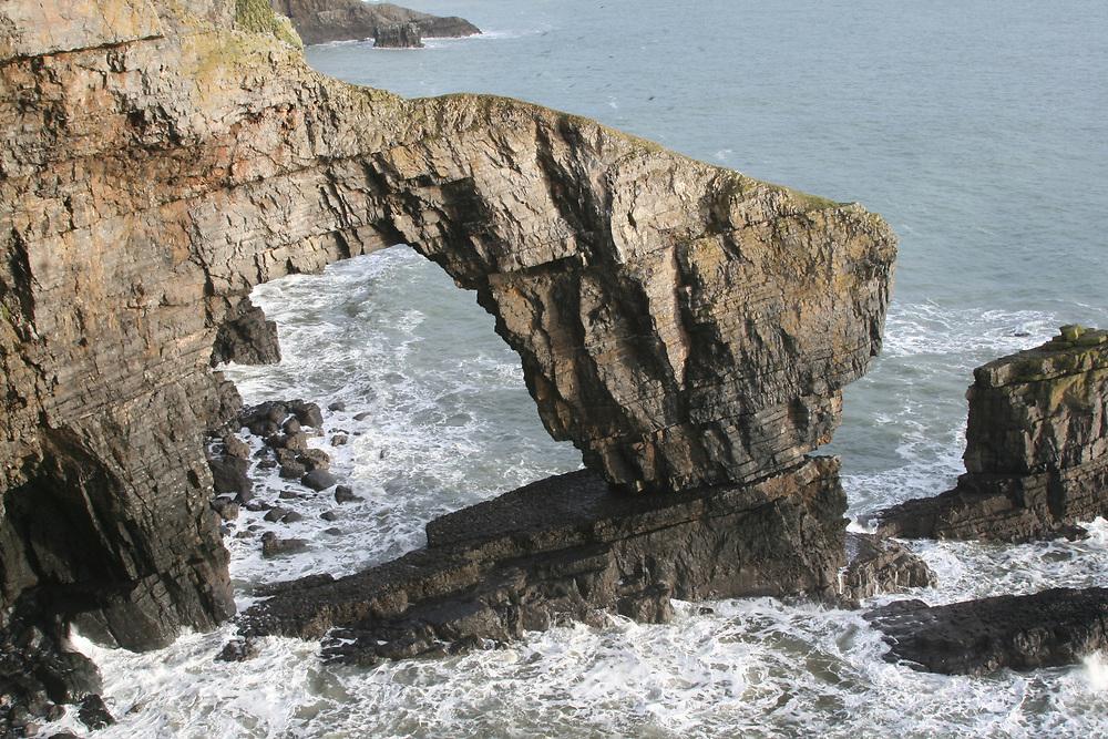 The Green Bridge of Wales, Pembrokeshire, UK