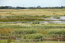Nature Reserve on site of former gravel pit,