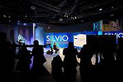 Silvio Berlusconi at La7 Tv studios in Rome on 18 January 2018. Christian Mantuano / OneShot