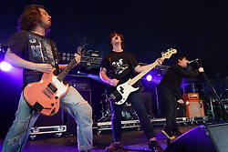 Culture Abuse performing live on the Pit/Lock Up Stage at the 2017 Reading Festival. Photo date: Sunday, August 27, 2017. Photo credit should read: Richard Gray/EMPICS Entertainment