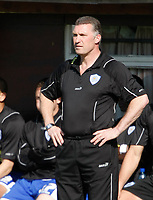 Photo: Steve Bond/Richard Lane Photography. Hereford United v Leicester City. Coca Cola League One. 11/04/2009. Nigel Pearson on the touchline