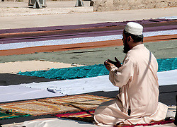 June 25, 2017 - Rome, Italy - Praying for Eid al-Fitr, the ''Fast holiday of fasting'' after the Ramadan in Vittorio square, the multi-ethnic neighborhood of the capital. (Credit Image: © Patrizia Cortellessa/Pacific Press via ZUMA Wire)