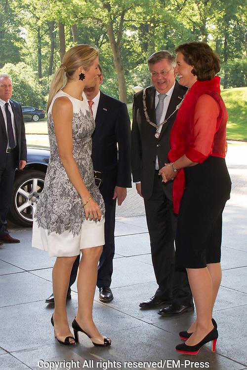Koningin Máxima spreekt bij congres PO-Raad 'Kennis voor Morgen' <br /> <br /> Queen Máxima speaking at conference PO Council 'Knowledge for Tomorrow'