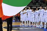 Trieste, 02/09/2012<br /> Basket, Eurobasket 2013 Qualifying Round<br /> Italia - Repubblica Ceca<br /> Nella foto: team italia<br /> Foto Ciamillo