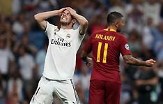Real Madrid v AS Roma 19 sep 2018