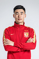 **EXCLUSIVE**Portrait of Chinese soccer player Deng Hanwen of Guangzhou Evergrande Taobao F.C. for the 2018 Chinese Football Association Super League, in Guangzhou city, south China's Guangdong province, 7 February 2018.