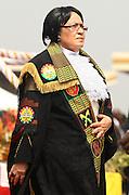 Joyce Bamford Addo, new speaker of parliament. Inauguration of Ghana's new president John Atta Mills in Accra, Ghana on Wednesday January 7, 2009.